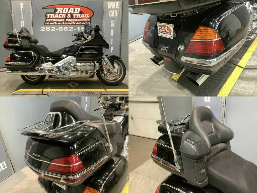2002 Honda Gold Wing 1800 Black for sale craigslist photo