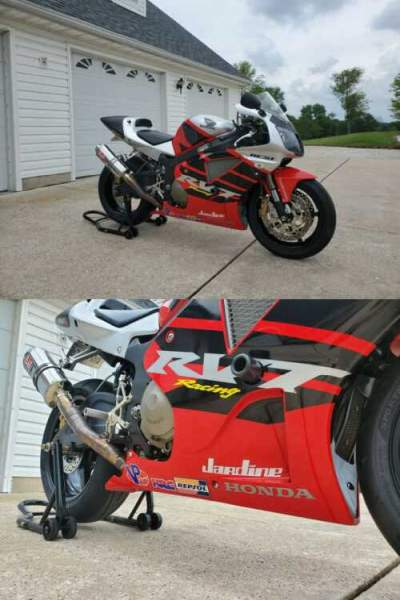 2002 Honda Honda RC51 RVT 1000 Red for sale craigslist
