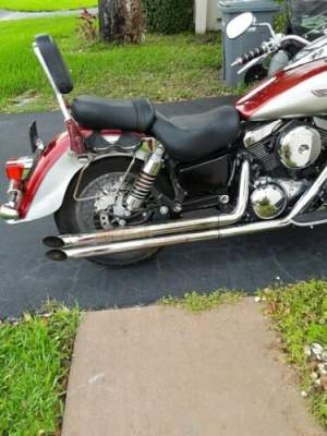2002 Kawasaki vulcan Red/gray for sale craigslist photo