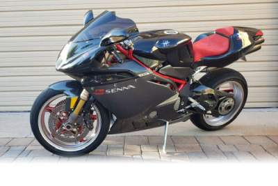 2002 MV Agusta 750 F4 Senna First Edition Black for sale craigslist photo
