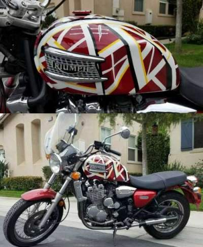 2002 Triumph Thunderbird Red for sale craigslist photo
