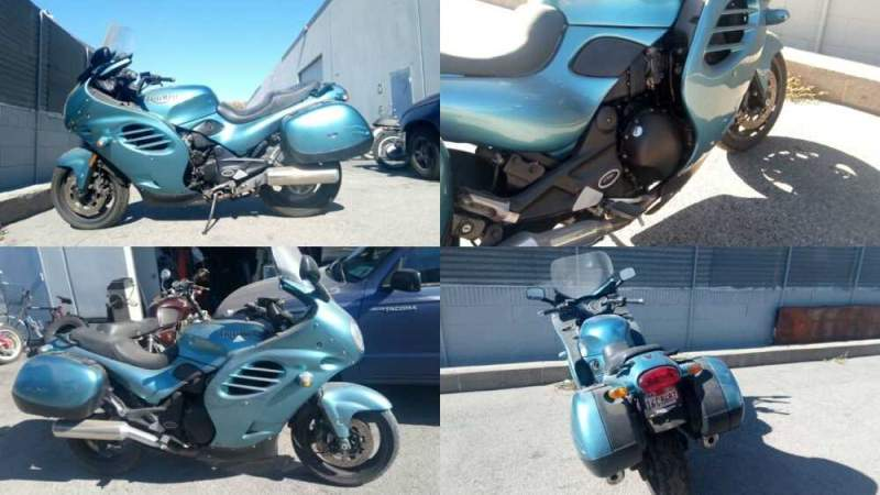 2002 Triumph Trophy Blue for sale