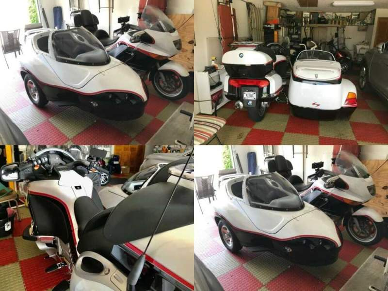 2003 BMW K-Series White/Red/Black for sale