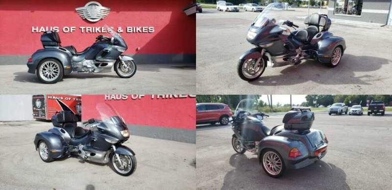 2003 BMW K1200 LT Gray for sale craigslist photo