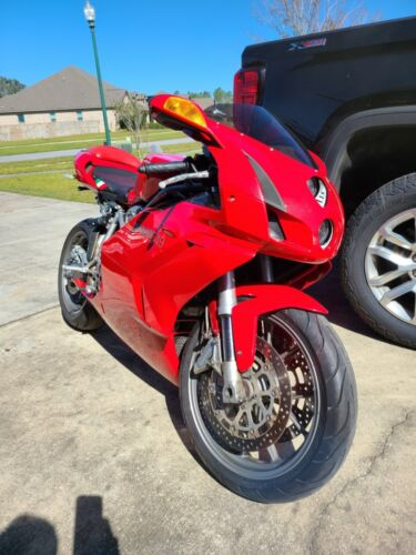 2003 Ducati 749 Red for sale craigslist photo