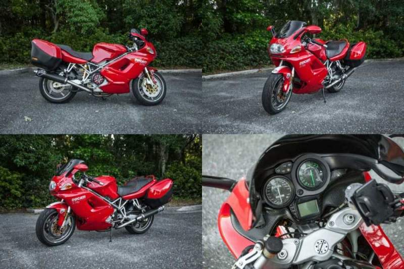 2003 Ducati ST Ducati ST4S ST 996 1 Owner Ducati Performance Upgrades Excellent Red for sale craigslist