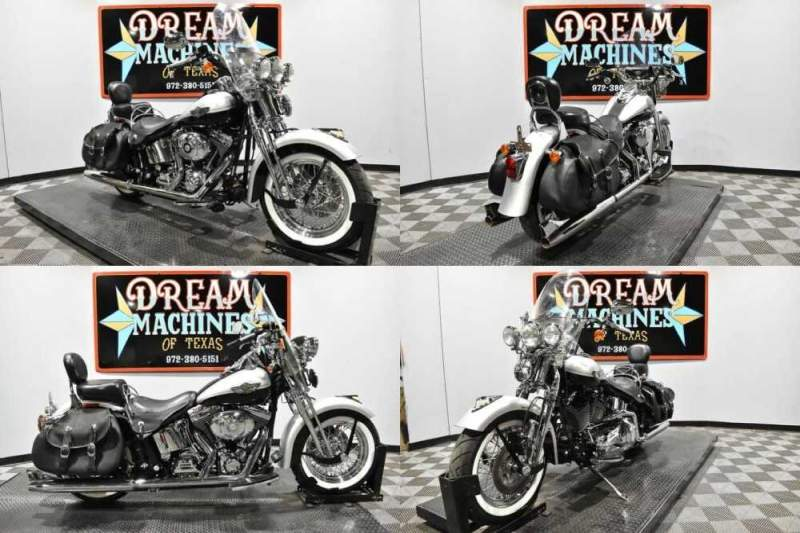 2003 Harley-Davidson FLSTSI - Heritage Springer Softail 100th Anniversa Silver for sale craigslist
