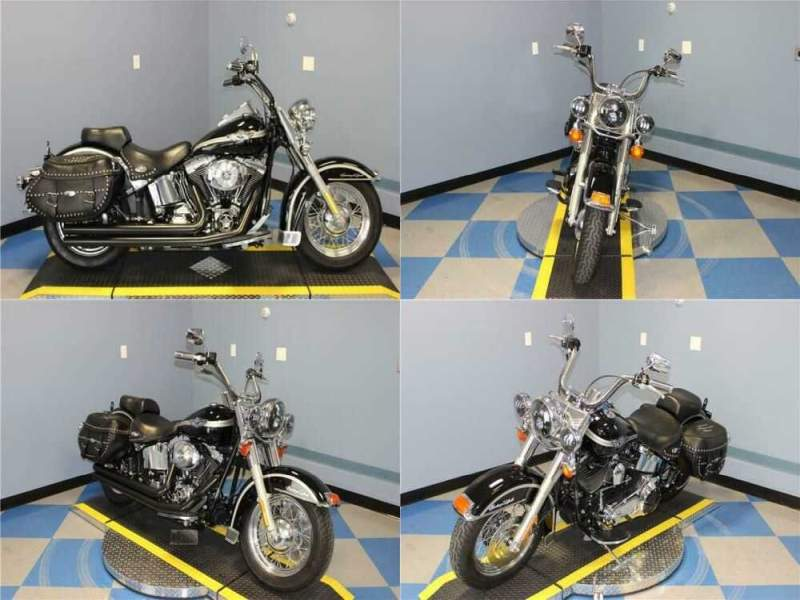 2003 Harley-Davidson Heritage Softail Classic Black for sale craigslist photo