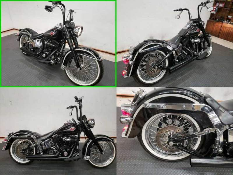 2003 Harley-Davidson Softail Heritage Softail Classic Black for sale craigslist