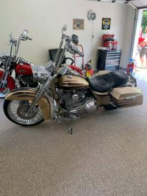 2003 Harley-Davidson Touring 2003 Road-King CVO Screamin Eagle Gold Centennial Gold for sale craigslist