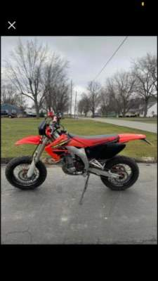 2003 Honda Crf450r Red for sale craigslist photo