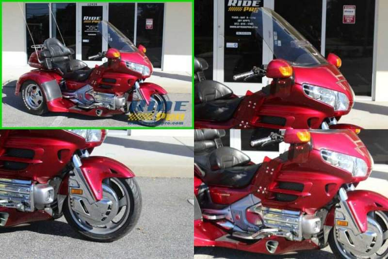 2003 Honda Gold Wing Motor Trike MAROON for sale craigslist photo