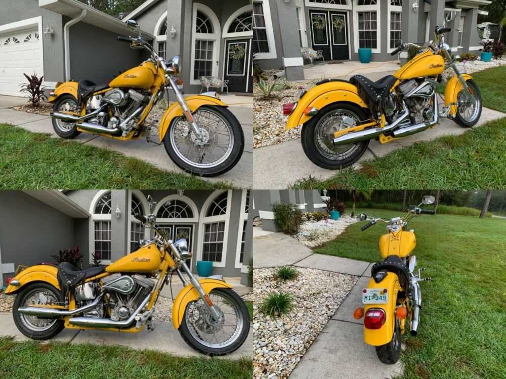 2003 Indian SCOUT Yellow for sale