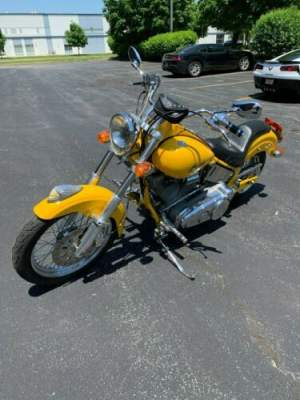 2003 Indian Scout Yellow for sale craigslist photo