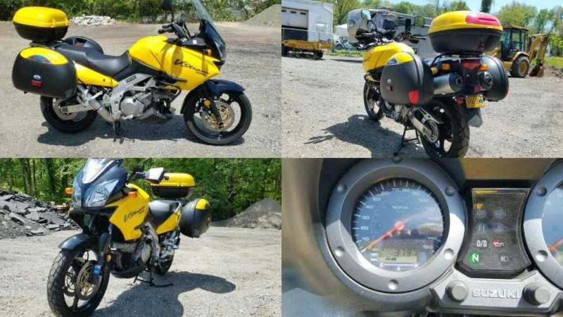 2003 Suzuki DL1000 Yellow for sale craigslist photo