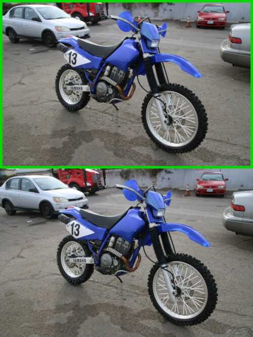 2003 Yamaha TT-R 250 Blue for sale craigslist
