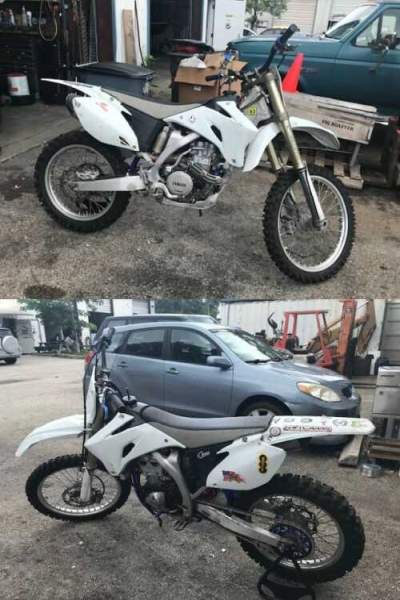 2003 Yamaha YZF White for sale craigslist photo