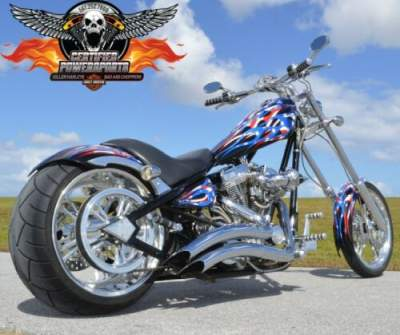 2004 American Ironhorse 280 LSC LONE STAR CHOPPER Only 324 One Owner Miles Upgraded Stage 5 Patriotic American Flag Paint Job for sale craigslist