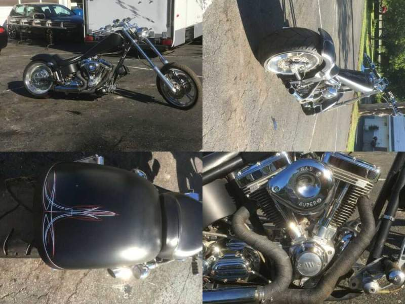 2004 American Ironhorse Texas Chopper Black for sale craigslist photo