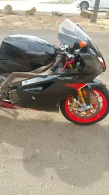 2004 Aprilia RSV 1000 R Black for sale craigslist photo