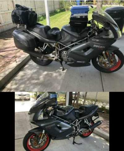 2004 Ducati ST4s Gray for sale craigslist photo