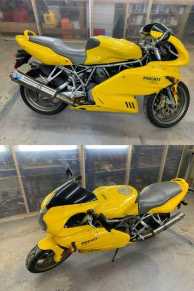 2004 Ducati Supersport Yellow for sale craigslist photo