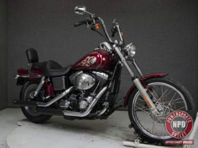 2004 Harley-Davidson Dyna FXDWGI WIDE GLIDE LAVA RED SUNGLO for sale craigslist