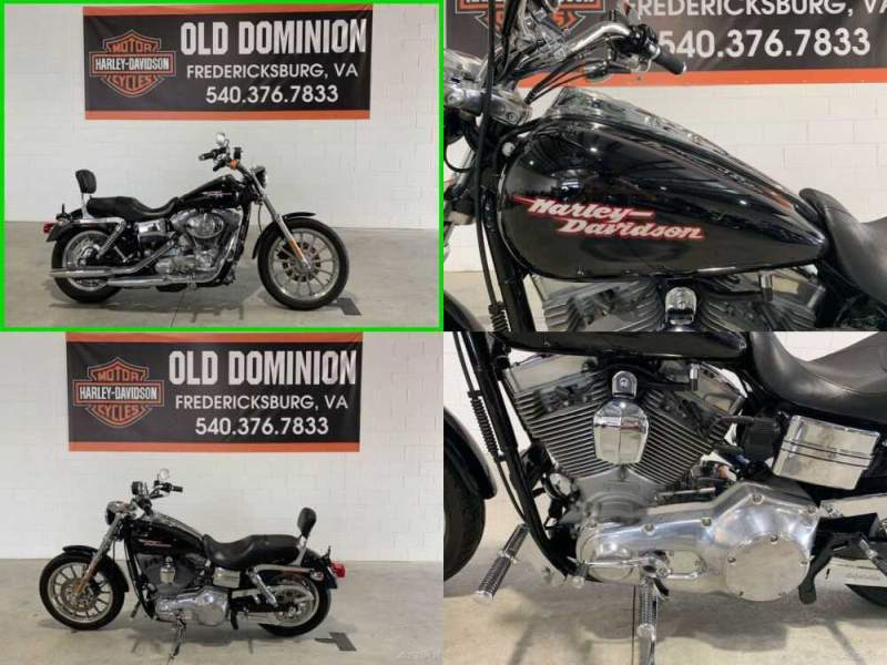 2004 Harley-Davidson Dyna Vivid Black for sale craigslist photo