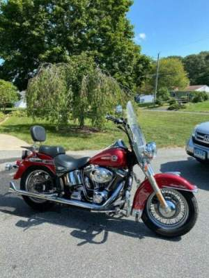 2004 Harley-Davidson Softail Red for sale