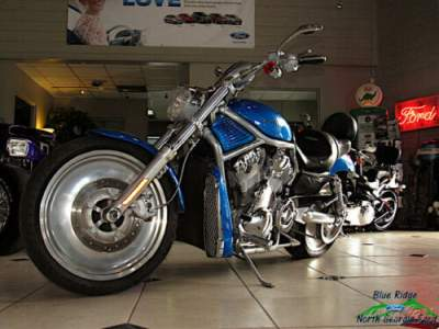 2004 Harley-Davidson V-ROD A V-Rod Blue for sale