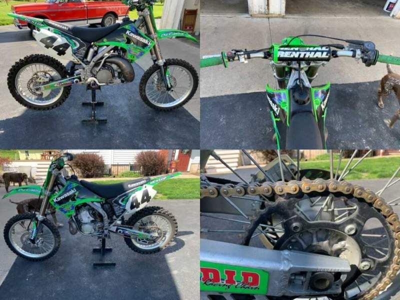 2004 Kawasaki KX Green for sale craigslist