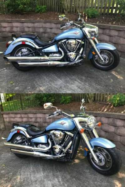 2004 Kawasaki Vulcan Blue for sale craigslist