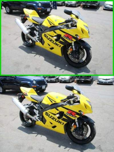 2004 Suzuki GSX-R 600 Yellow for sale