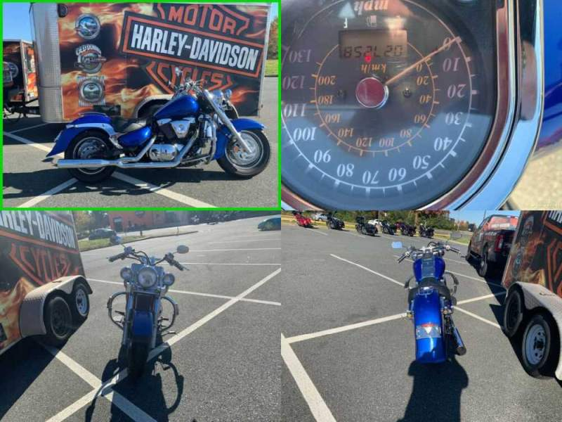 2004 Suzuki Intruder 1500 Blue for sale craigslist photo