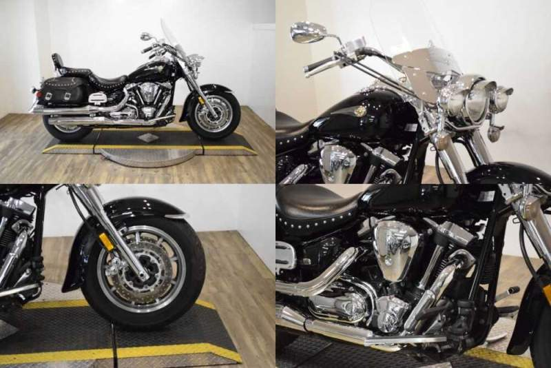 2004 Yamaha Road Star Midnight Silverado® Raven for sale craigslist
