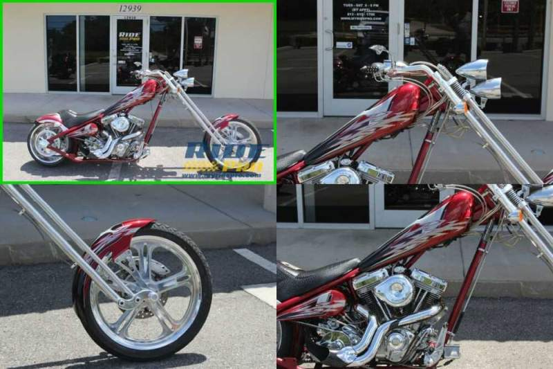 2005 American Ironhorse LSC Red for sale craigslist photo