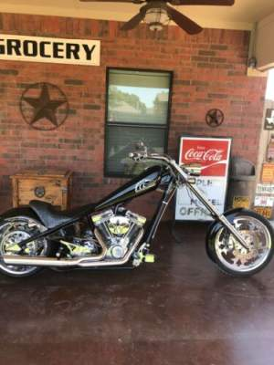 2005 American Ironhorse Lone star chopper. LSC Black for sale craigslist