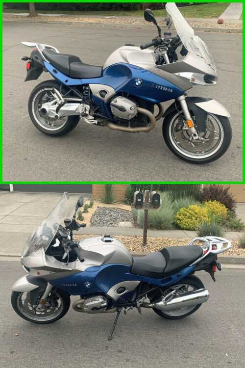 2005 BMW R-Series 1200 ST Blue for sale