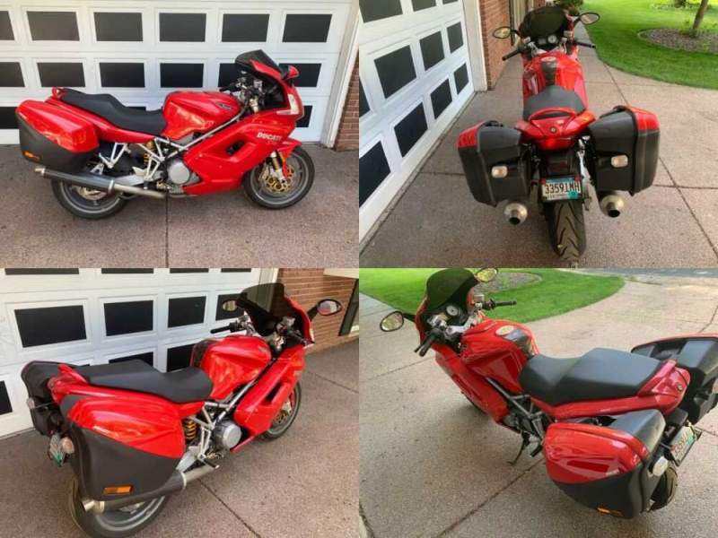 2005 Ducati ST 4 Red for sale craigslist photo