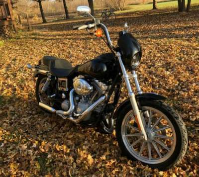 2005 Harley-Davidson Dyna Black for sale craigslist photo