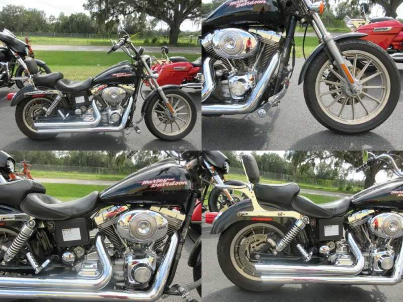 2005 Harley-Davidson Dyna hd, dyna, cruiser Black for sale