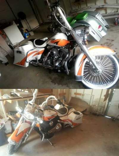 2005 Harley-Davidson FLHRCI White for sale craigslist photo