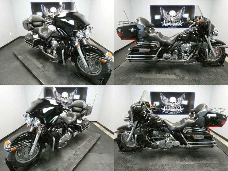 2005 Harley-Davidson FLHTCUI - Electra Glide Ultra Classic Injection Black for sale craigslist photo