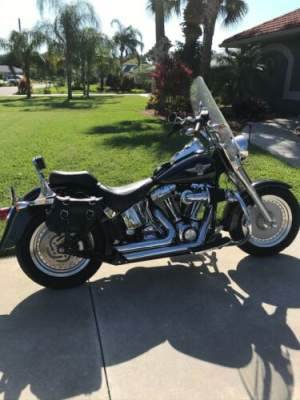 2005 Harley-Davidson Softail Black for sale craigslist photo