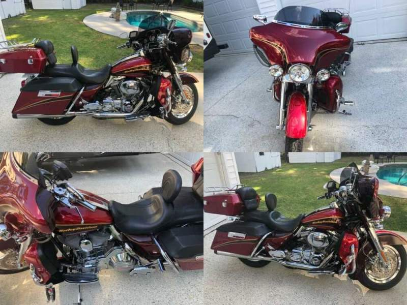 2005 Harley-Davidson Touring 2 Tone Cherry for sale