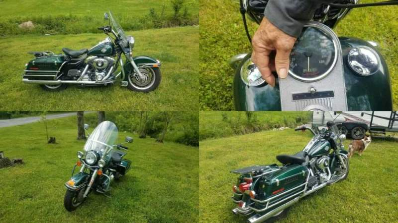 2005 Harley-Davidson Touring Green for sale craigslist
