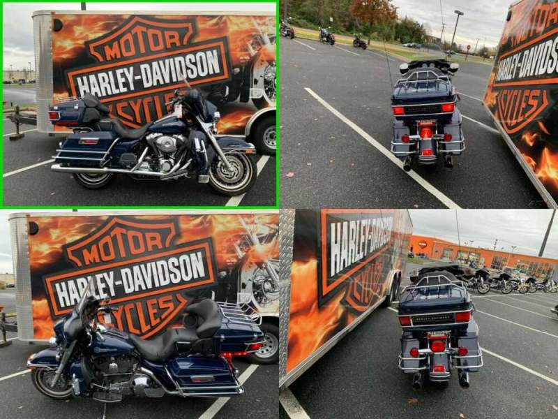 2005 Harley-Davidson Touring NIGHTWATCH BLUE for sale craigslist photo