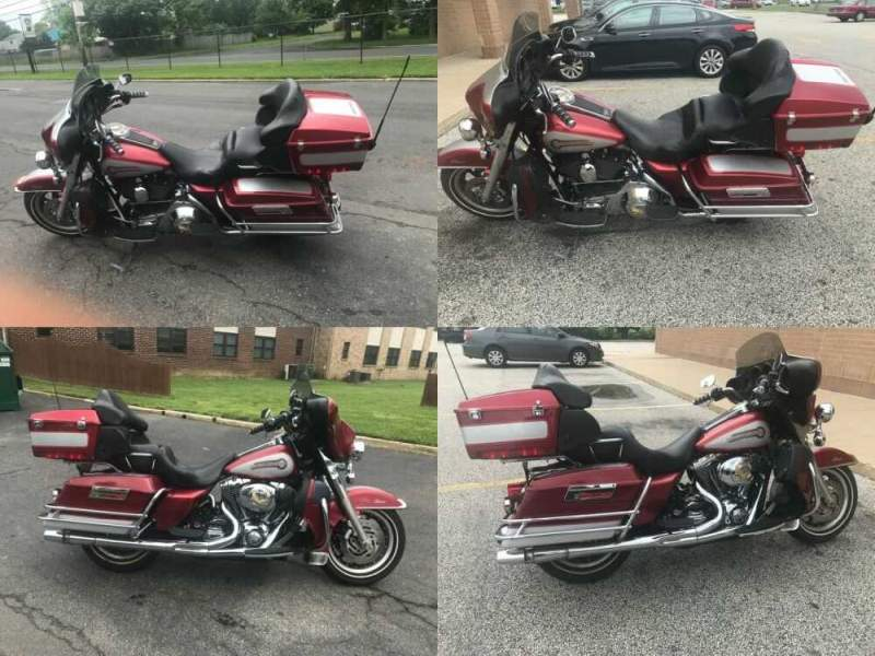 2005 Harley-Davidson Touring Red for sale craigslist photo