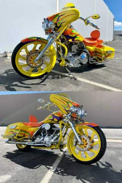 2005 Harley-Davidson Touring Yellow for sale craigslist