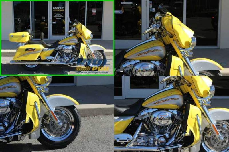 2005 Harley-Davidson Touring Electra Glide® Classic CVO Yellow for sale craigslist
